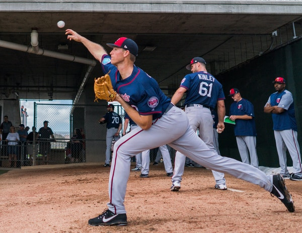 In a span of three years, after Twins pitcher Aaron Slegers shot up from 6-2 to 6-10, injuries allowed him to pitch only 10⅓ innings.