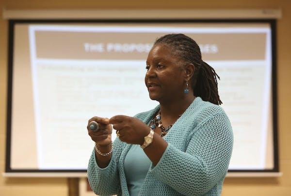 Minneapolis Department of Civil Rights director Velma Korbel, shown in 2012.