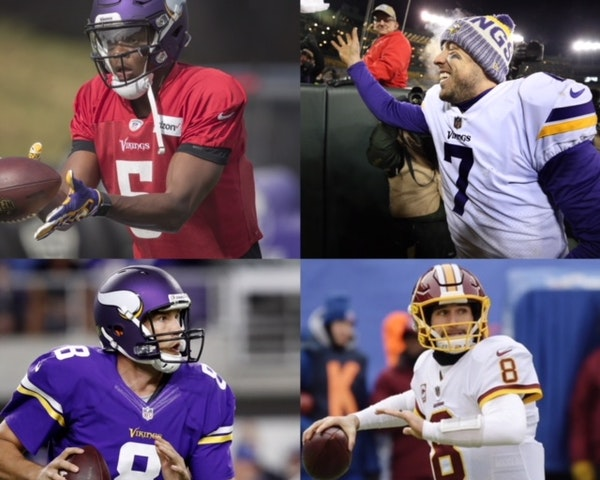 Tracing the Vikings' quarterback quandary to a single date in November