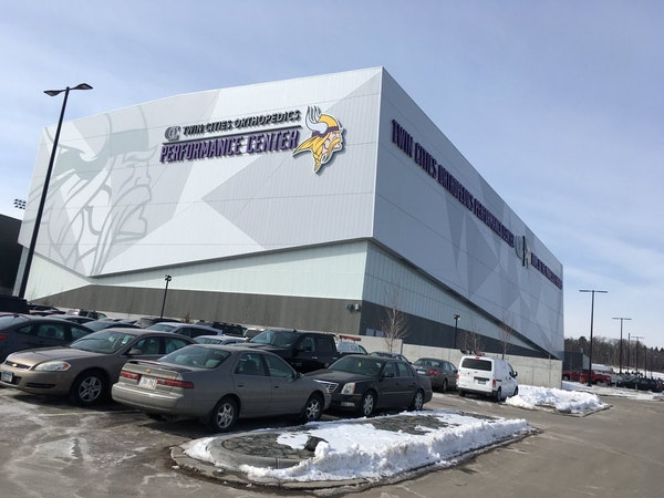 The Minnesota Vikings new practice facility, Twin Cities Orthopedics Performance Center.