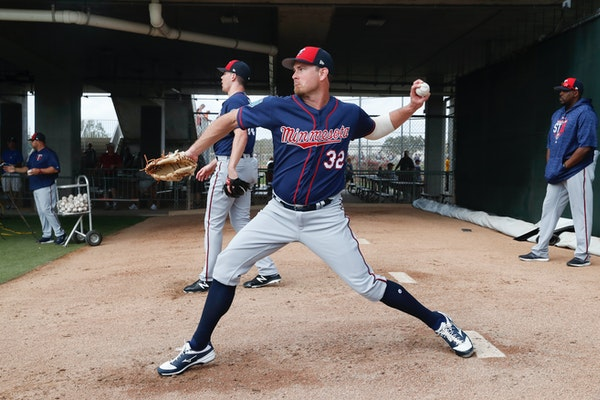Pitcher Zach Duke was one of seven free-agent acquisitions by the Twins this offseason.