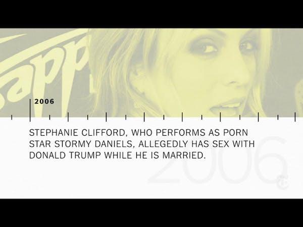 Stormy Daniels: Timeline of a Trump scandal