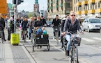 Mikael Colville-Andersen wants Copenhagen — where four in 10 ride to work or school — for the rest of the world.