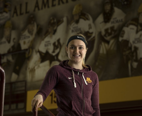 After health struggles, junior forward Taylor Williamson is playing again for the Gophers women's hockey team and scoring big goals.