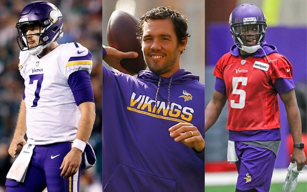 Case Keenum, Sam Bradford and Teddy Bridgewater have reportedly agreed to terms with new teams.
