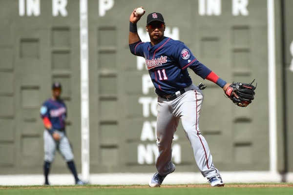 Twins infielder Jorge Polanco (11) has been suspended for the first 80 games of the season.