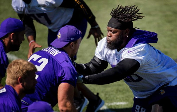 Depth on both lines tops Vikings' list of remaining needs