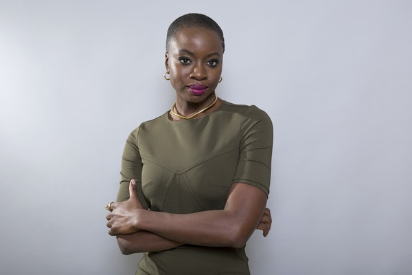 """""""I stand on shoulders of women before me,"""" says actor/writer Danai Gurira, whose Minnesota-set play """"Familiar"""" opens Friday at the Guthrie."""