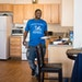 """Detrick Cheairs, above, said he and his 7-year-old daughter, De'Liyah, """"are so blessed"""" to have moved into Minneapolis' Hawthorne EcoVillage."""