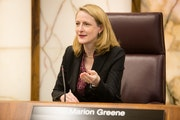 """""""We have to demonstrate to the community we are serious about this,"""" County Board Chairwoman Marion Greene said."""