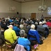 More than 100 people gathered at Nokomis Community Center Wednesday night to hear about Nokomis and Hiawatha water issues.