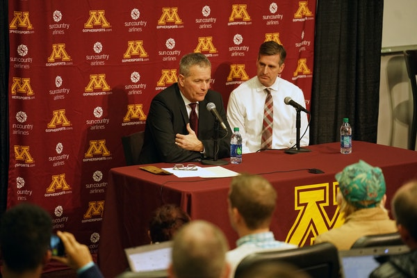 Lucia, Coyle weigh in on search for U hockey coach