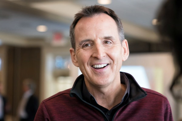 Former Gov. Tim Pawlenty spoke in March at the Edina Country Club on the Future of Work at a joint meeting of the Chambers of Commerce for Bloomington