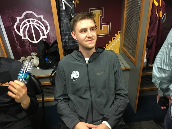 Prior Lake's Carson Shanks transferred to Loyola after reaching the NCAA tournament with North Dakota last year, and said he has received text message