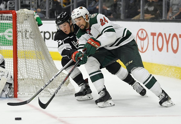 Defenseman Matt Dumba has had a career year for the Wild at the age of 23. He also has 21 games of playoff experience.