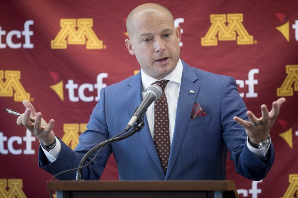 P.J. Fleck talked about his young Gophers team before spring practice began in early March.