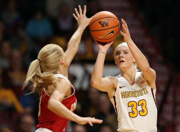 Minnesota's Carlie Wagner hopes to hear her name called on Thursday, WNBA's draft night