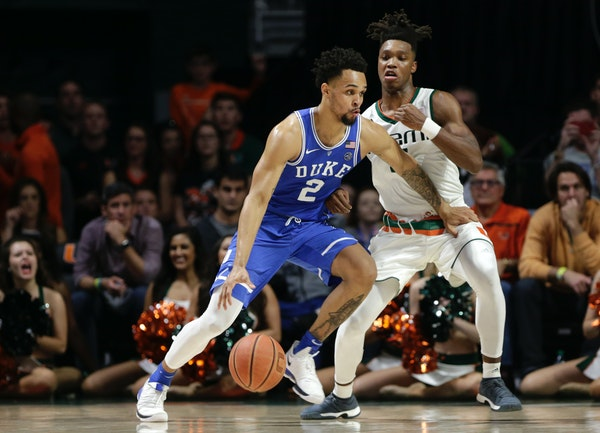 From Apple Valley to the NBA, Duke's Gary Trent Jr.'s road leads him to the pros
