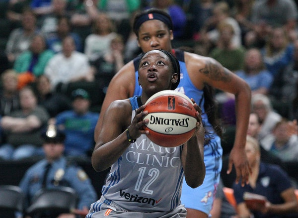 Lynx guard Alexis Jones.may played a bigger role in her second WNBA season.