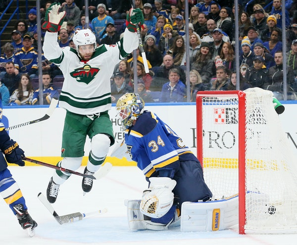 Jason Zucker and the Wild took a big fall to start the season before Eric Staal went on a scoring tear, Zach Parise returned from a back injury to sco