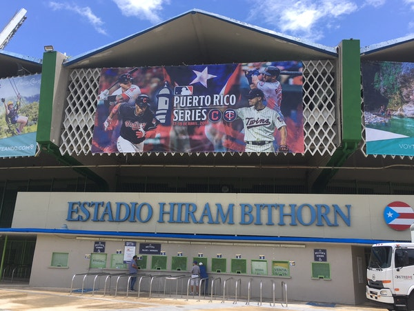 Hiram Bithorn Stadium will host the two-game series that starts Tuesday.