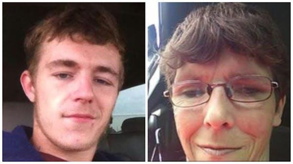 "Dalton McFadzen, 21, and Denise McFadzen, 42, were victims of ""homicidal violence"" Tuesday in a rural home near Perham, Minn., according to the Ot"