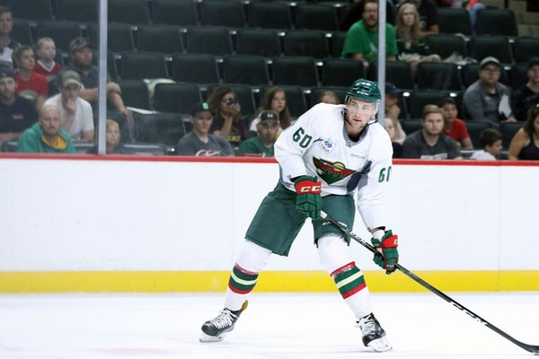 Wild reassigns Carson Soucy to Iowa, setting up Louie Belpedio NHL debut