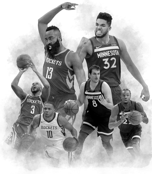 Timberwolves-Rockets series preview: Prepare for a three-party