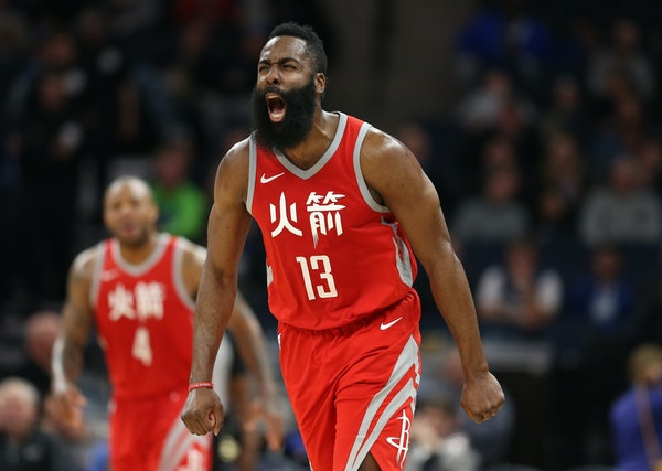 Rockets superstar James Harden and the No. 1-seeded Houston Rockets will host the Wolves in Game 1 on Sunday night.