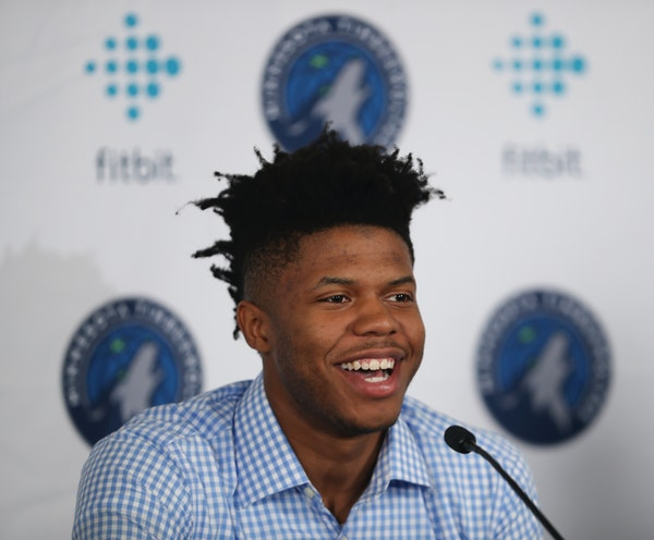 Justin Patton at his introductory news conference