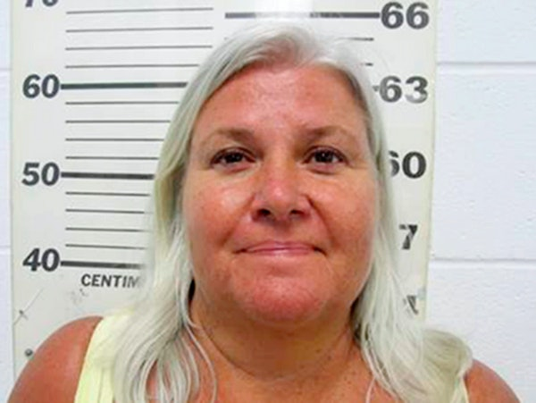 This photo provided by the South Padre Island Police Department shows Lois Riess, of Blooming Prairie, Minn., who was arrested by federal deputy marsh