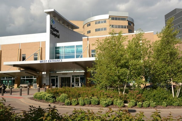 Regions Hospital in St. Paul.