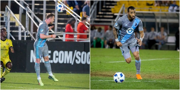 Jerome Thiesson (left) and Tyrone Mears
