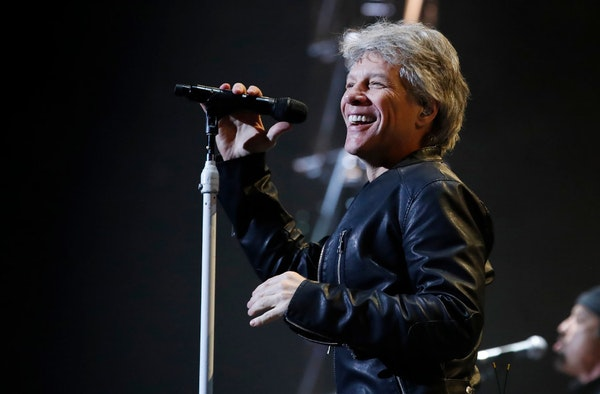 Bon Jovi returns to Xcel Center following a March 2017 gig there.