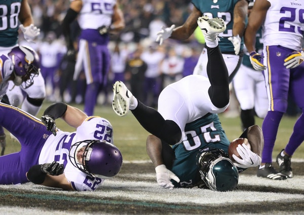 """In their final six quarters — the 29-24 """"Minneapolis Miracle"""" victory over the Saints and the 38-7 NFC Championship Game loss at Philadelphia — th"""