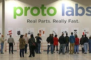 Protolabs recorded a record first quarter on Thursday. (BRUCE BISPING/Star Tribune file photo)