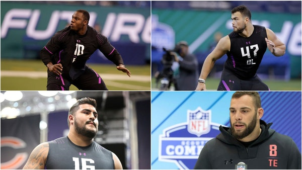Ten intriguing prospects still available for the Vikings on Day 2