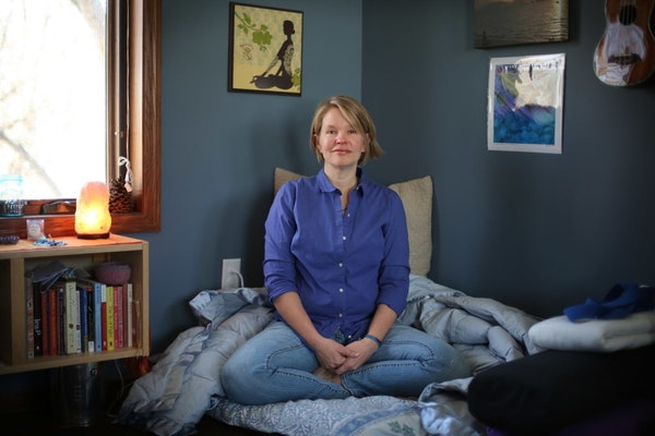 Christy Marek, a certified death doula from Lakeville, is part of a new field that reflects gradually more open attitudes toward death.