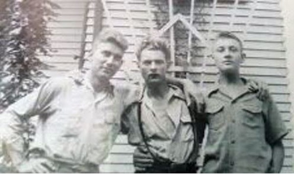 Frank and Mae Gifford's sons, from left, Quentin, Earl and Harold. Quentin was killed at Pearl Harbor in 1941. A DNA project helped identify his rem