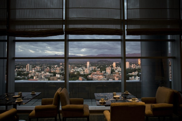 The view from the Mirador Lounge Restaurant at the Sheraton Hotel, one of the properties that Marriott gained when it acquired Starwood Hotels and Res