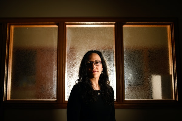 Imani Jafaar, of the Office of Police Conduct Review, was photographed outside her office at Minneapolis City Hall Wednesday. ] AARON LAVINSKY ï aaro
