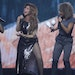 Shania Twain early in her show Tuesday night at Xcel Energy Center.