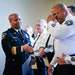 Lt. Mark Montgomery wiped away tears as Minneapolis Police Chief Medaria Arradondo read his name during Tuesday's promotion ceremony.