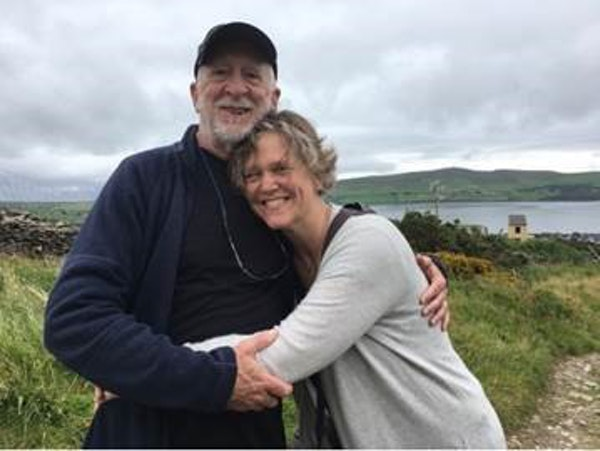 Nick Coleman with his wife, Laura Billings Coleman