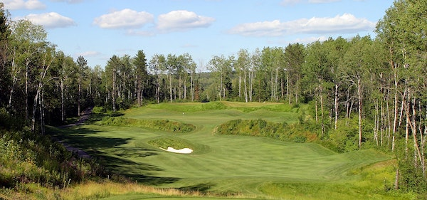 The Quarry golf course at Giants Ridge was named the No. 4 course in Minnesota.