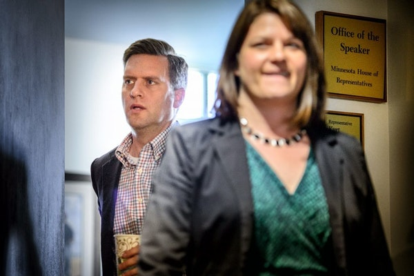 Speaker Kurt Daudt and Majority Leader Joyce Peppin provided updated information Friday on the impasse with the governor's office.