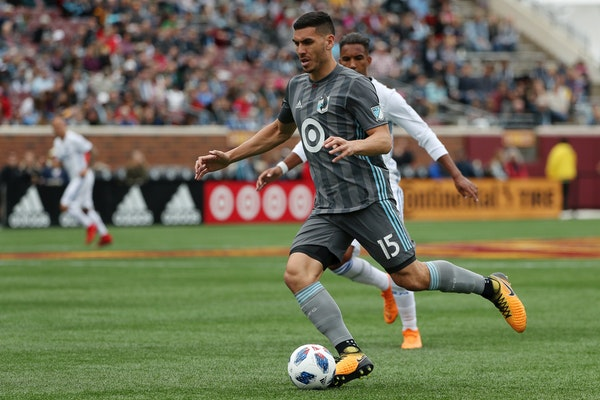 Michael Boxall found out he would be captaining Minnesota United starting this week the usual way: while he was getting a haircut.