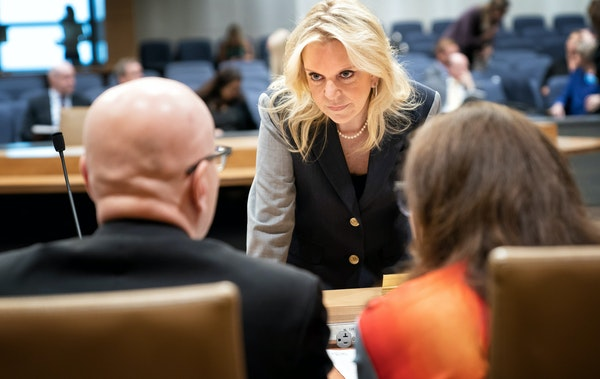 Few Minnesota lawmakers have more at stake in the legislative session's final few days than state Sen. Karin Housley.