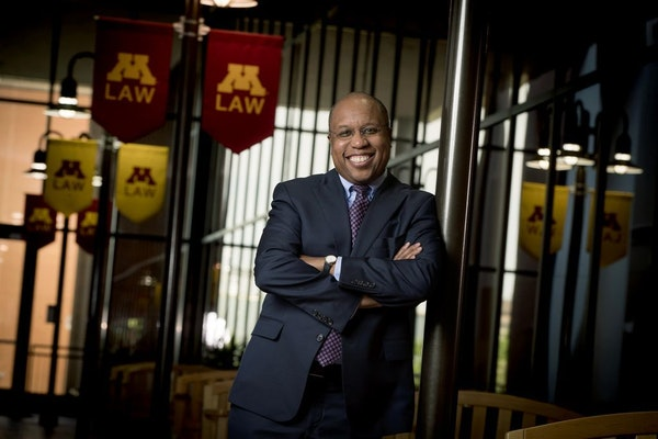 Applications are up and tuition dollars are on the rebound for the first time in years, said Garry Jenkins, dean at the University of Minnesota Law Sc