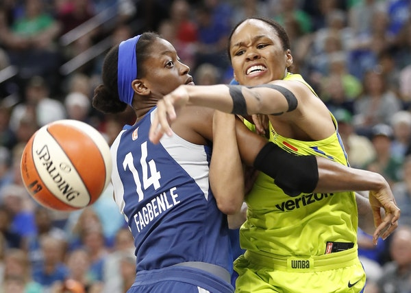 Minnesota Lynx forward Temi Fagbenle and the rest of the team are on a three-game skid heading into Sunday's game at LA.